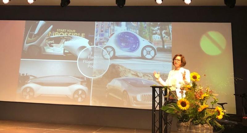 Speakerin autonomes fahren